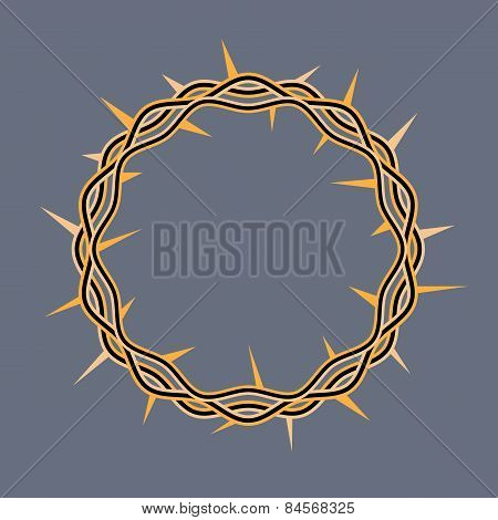 Crown Of Thorns Of Christ Illustration