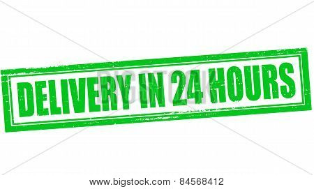 Delivery In Twenty Four Hours