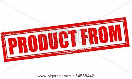 Product From