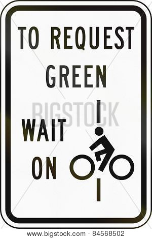 To Request Green Wait On Line