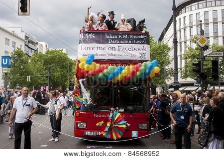 Gay Pride Parada In Berlin