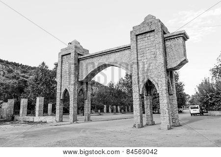 Beldibi, Turkey, Old gate