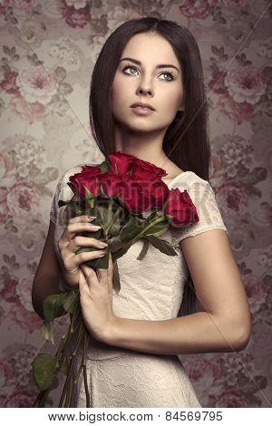 Roses Woman