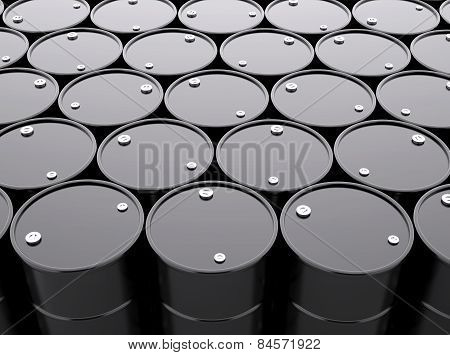 Oil Barrels Background