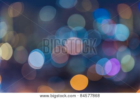 Bright colorful bokeh background