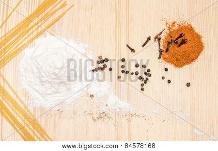 Still Life Hill Of Flour