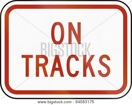 On Tracks