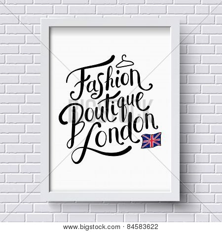 Fashion Boutique , London