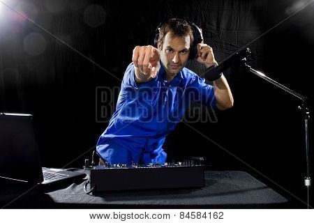 Caucasian Male DJ