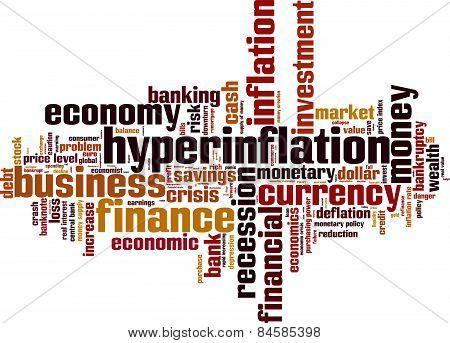 Hyperinflation Word Cloud