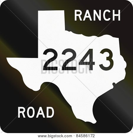 Ranch-to-market-road Shield