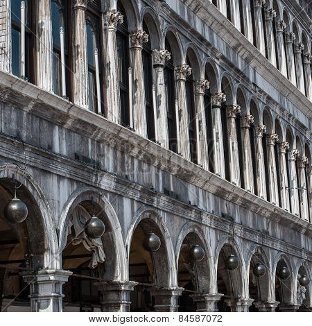 Procuratie Vecchie - Building In Gothic Style On St Marks Square
