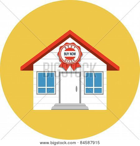 Real Estate Market Application Icon