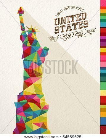 Travel Usa Landmark Polygonal Monument