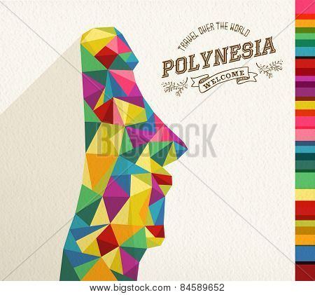 Travel Polynesia Landmark Polygonal Monument