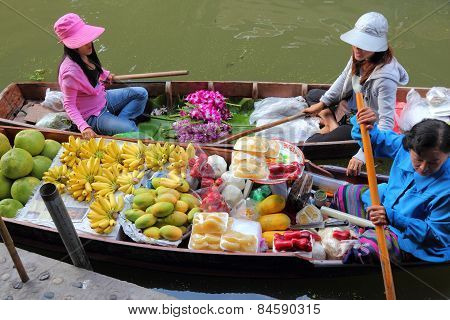 Thailand Floating Market