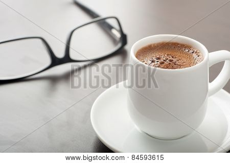 Coffe And Glasses