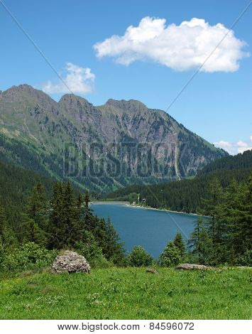 Blue Lake Arnensee In Summer