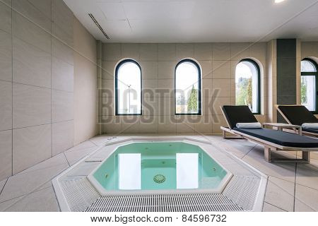 Interior Of A Hotel Jacuzzi