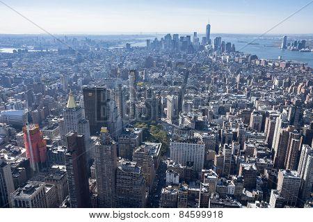 Flatiron District Lower Manhattan Finantial District New York City