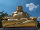 stock photo of gautama buddha  - Gautama Buddha or Katyayana or Kasennen - JPG
