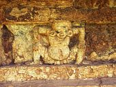 picture of midget  - Ancient Midget statue in srithep phetchabun thailand - JPG