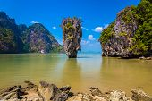 ������, ������: James Bond Island In Andaman Sea