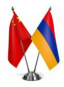 stock photo of armenia  - China and Armenia  - JPG