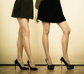 pic of black heel  - Female fashion - JPG