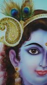 stock photo of lord krishna  - Lord Krishna - JPG