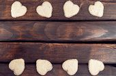 picture of cookie  - Cookies in the shape of heart - JPG