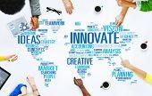 stock photo of objectives  - Innovation Inspiration Creativity Ideas Progress Innovate Concept - JPG
