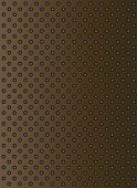 stock photo of metal grate  - Concept conceptual brown abstract metal stainless steel aluminum perforated pattern texture mesh background as metaphor to industrial - JPG