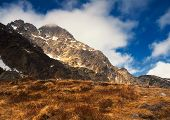 pic of mountain-high  - Tatra Mountains in spring time Poland - JPG