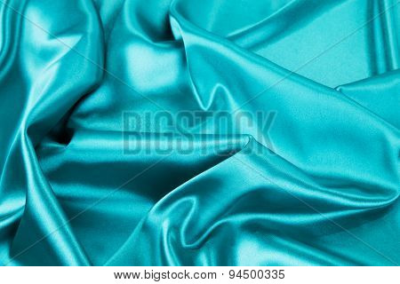 Light blue silk texture.