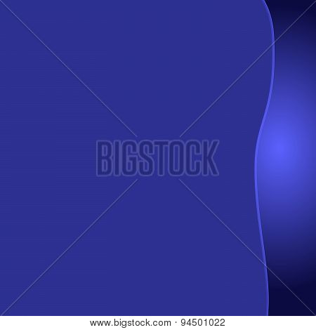 Abstract dark blue purple background with a glossy gradient bord