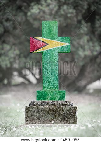 Gravestone In The Cemetery - Guyana
