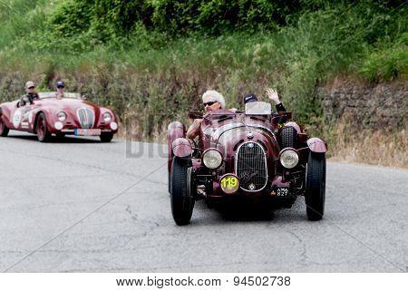 old car  ALFA ROMEO 8C mille miglia 2015