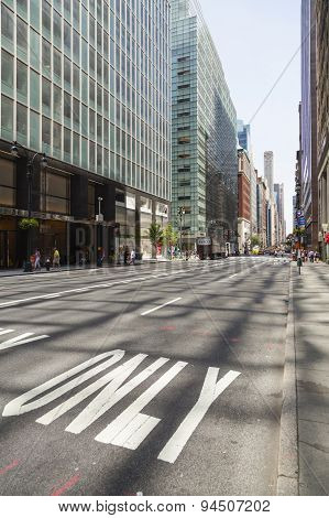 Madison Avenue In New York, Editorial