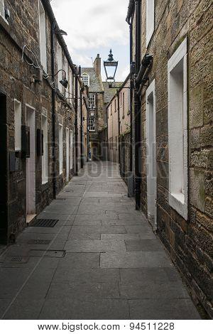An alleyway