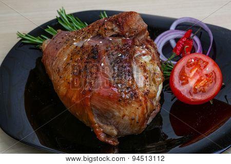 Rosted Turkey Leg