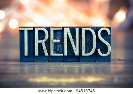 Trends Concept Metal Letterpress Type