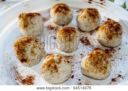 Rissoles Of Ricotta Cheese