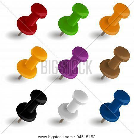 Color Pushpins