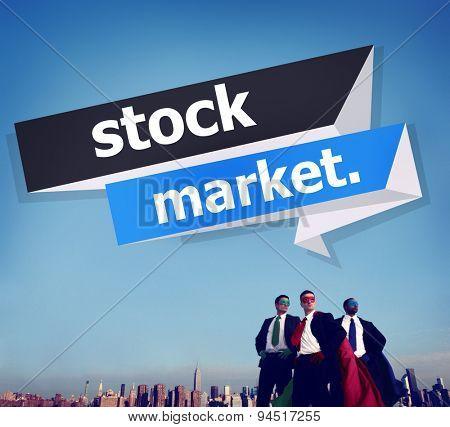Stock Market Economic Finance Exchange Concept