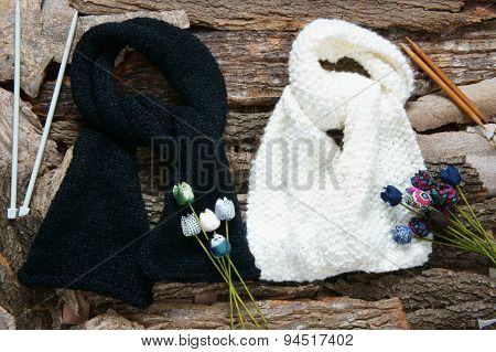 Handmade Gift, Special Day, Wintertime, Knit, Scarf