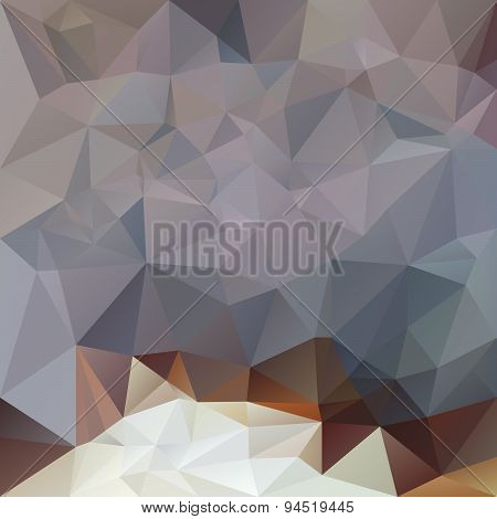 Vector Polygonal Background Triangular Design In Opal Colors