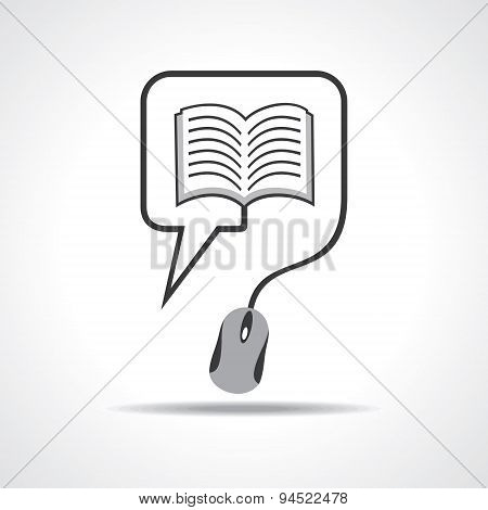 Computer education concept stock vector