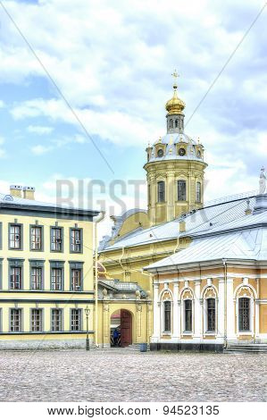 Saint Petersburg. Peter And Paul Cathedral
