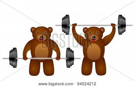 Training Bear Set